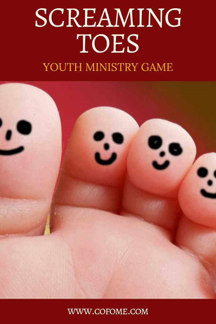 Screaming Toes Youth Ministry Game